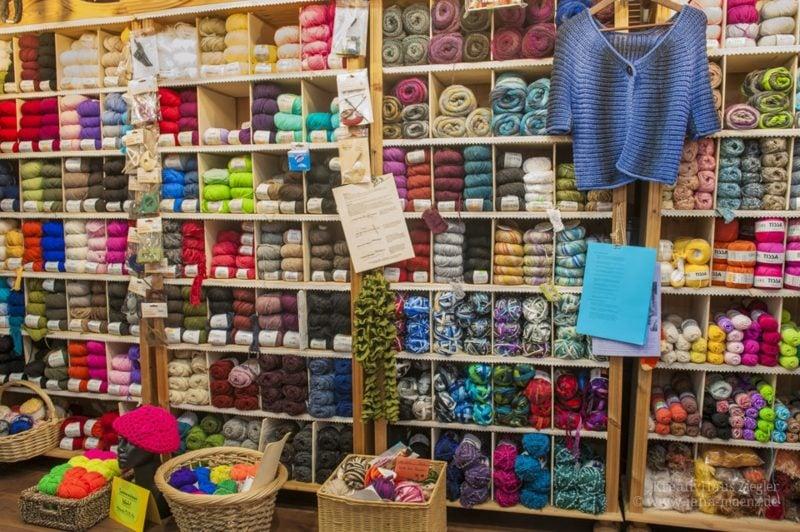 Sticken lernen Nähladen Materialien kaufen