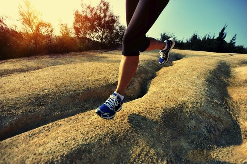 Laufen beginnen die richtigen Schuhe finden