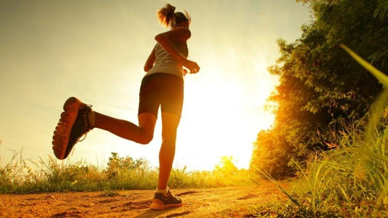 Laufen mit Gehphasen unterbrechen