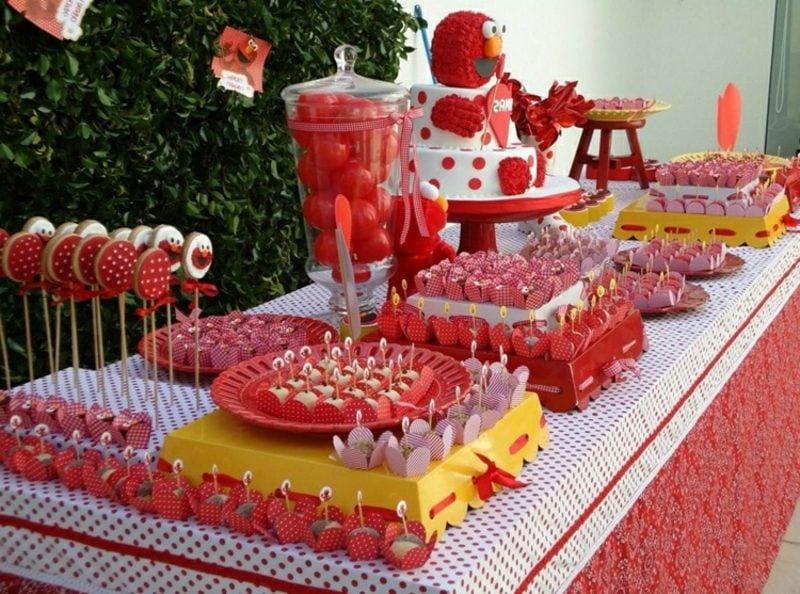 Kindergeburtstag Deko basteln fantasievolle Ideen