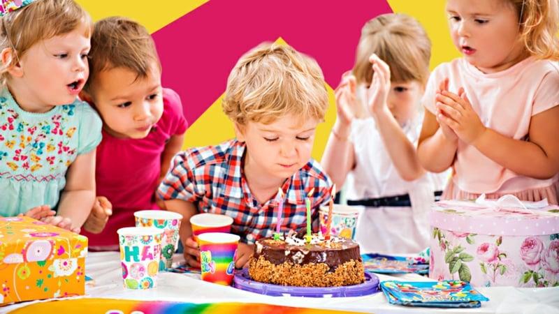 Kindergeburtstag Deko DIY