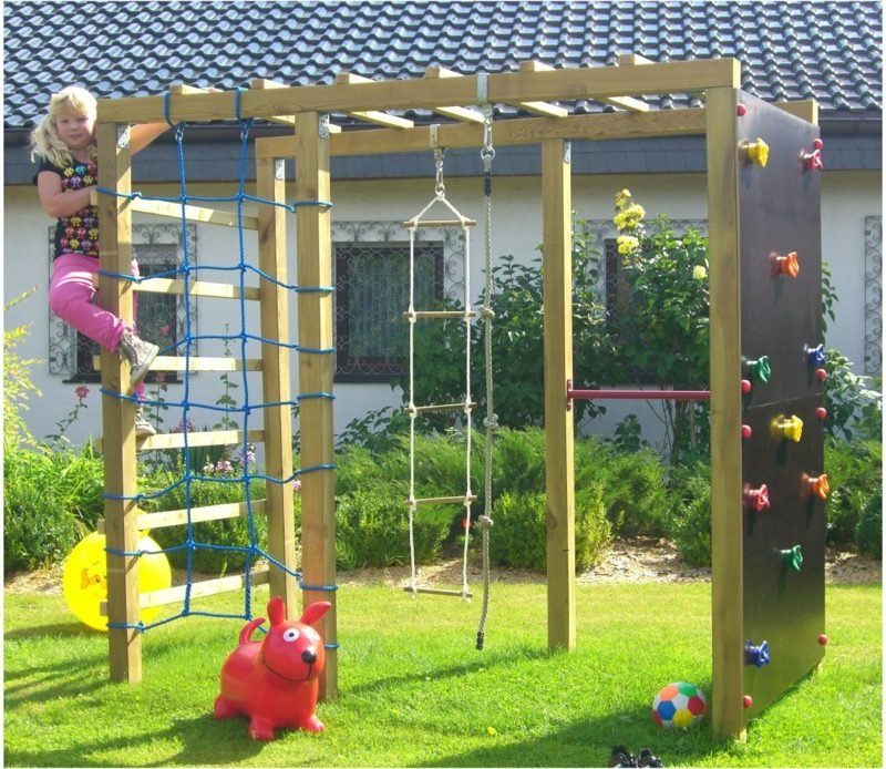 Spielecke Gestalten Mit Klettergerüst Kreative Ideen Eltern