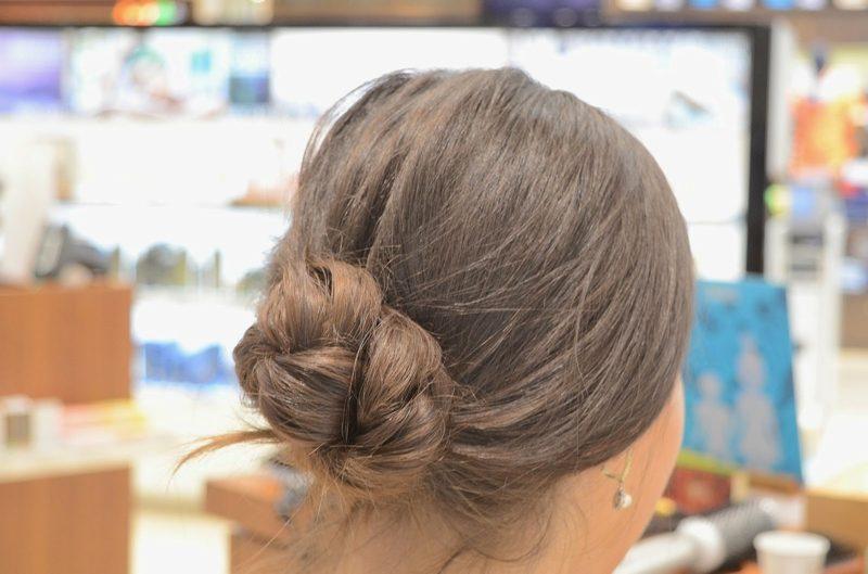 Hochsteckfrisuren mittellanges Haar
