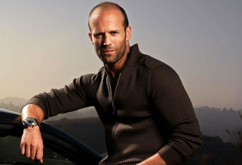 Herrenfrisuren modern Jason Statham