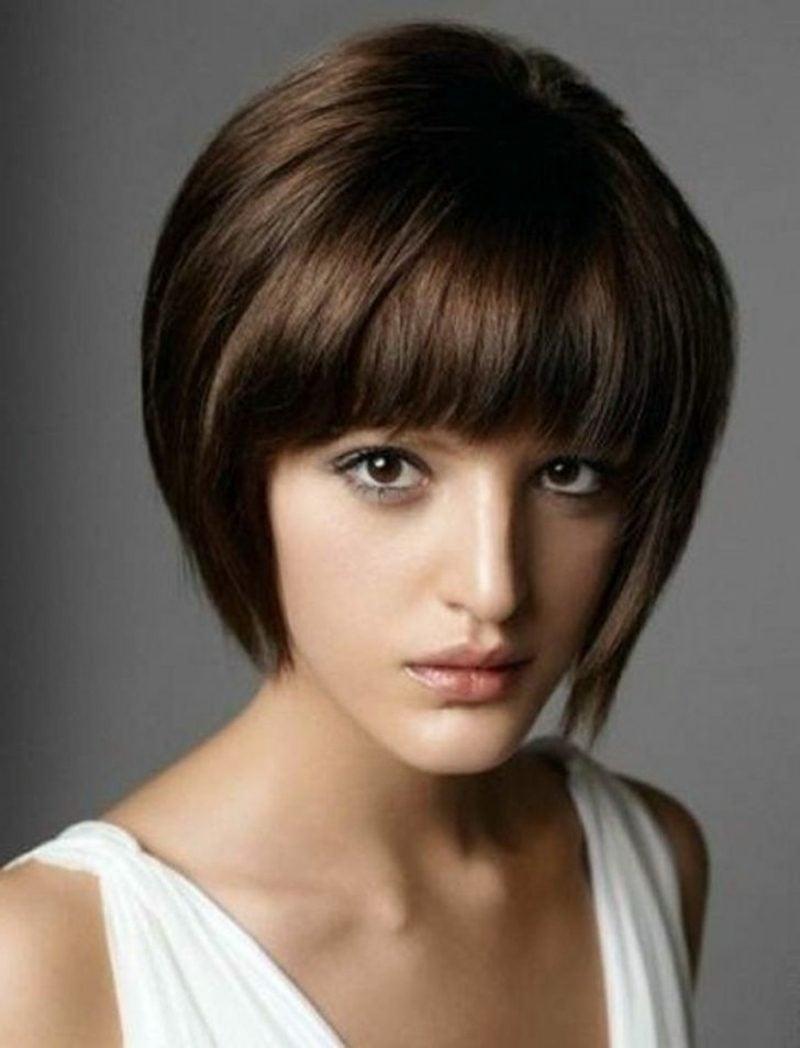 Kurzhaarfrisuren für feines Haar Shag Frisur