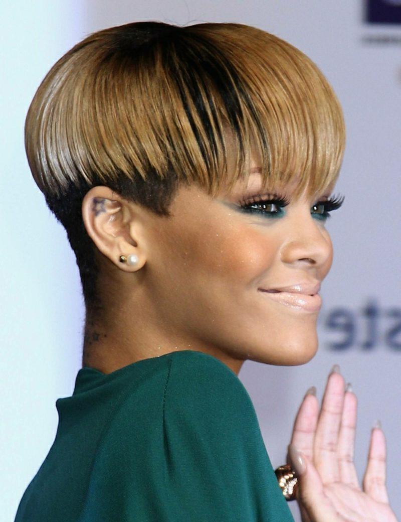 Kurzhaarfrisuren Undercut Rihanna
