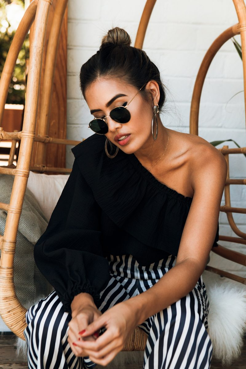 Trendige Sonnenbrillen