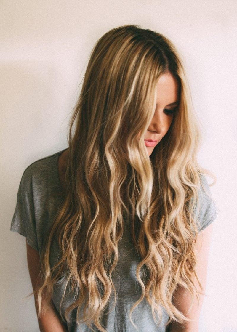 Haarschnitt lange Haare
