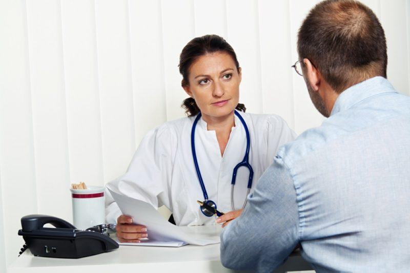 Laufen beginnen den Arzt besuchen hilfreiche Tipps
