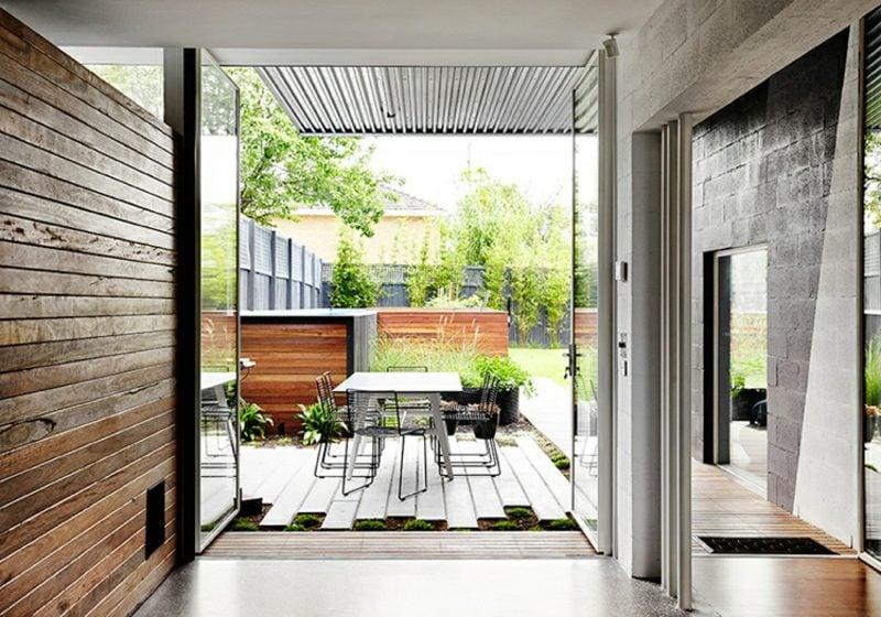 Einfamilienhaus Australien Essplatz im Freien