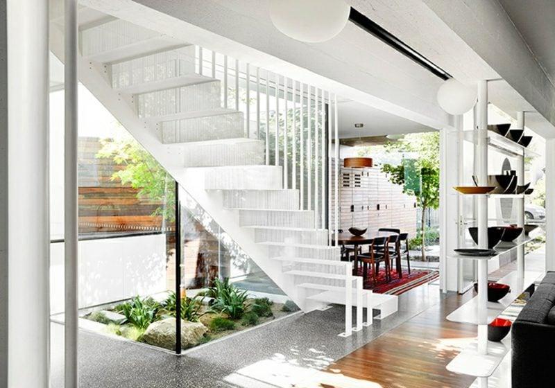 moderne Häuser Flachdachhaus Australien