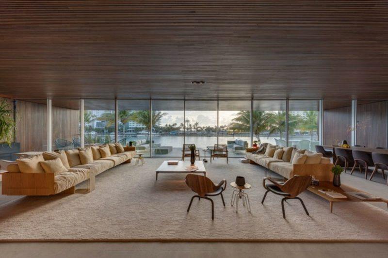 Grundriss Einfamilienhaus Florida Wohnraum offen