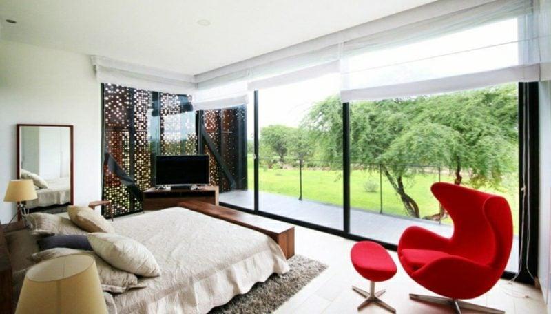 moderne Häuser Peru Schlafzimmer