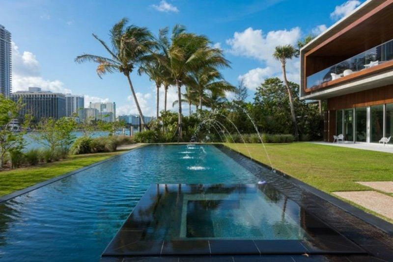 Stadtvilla Grundriss Luxusvilla in Florida