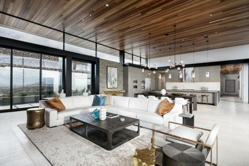 Einfamilienhaus Nevada Wohnzimmer modernes Design
