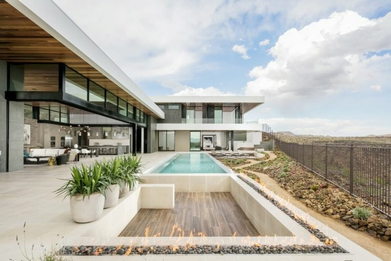 Haus Grundriss Nevada moderne Villa