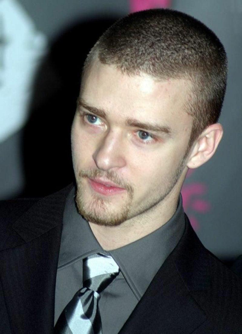 Männerfrisuren kurz Buzz Cut Justin Timberlake