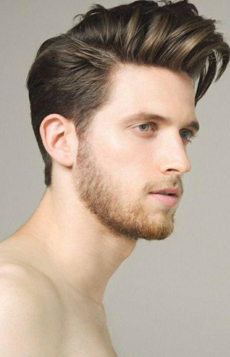 lange Haare Männer Frisuren Sidecut