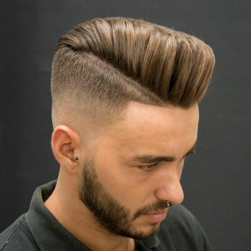 Abschlussball Frisuren Mann Sidecut