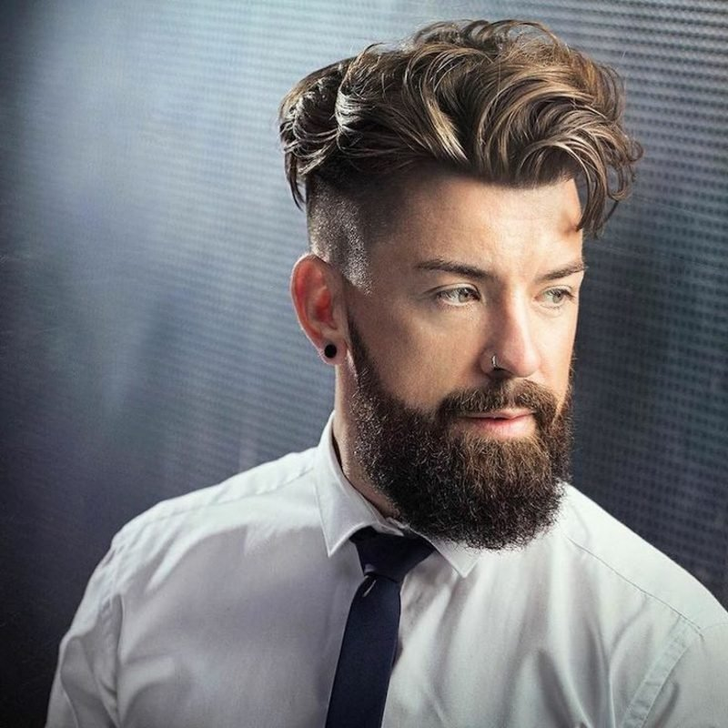 Kurzhaarfrisuren Undercut Männer Frisuren mit Locken