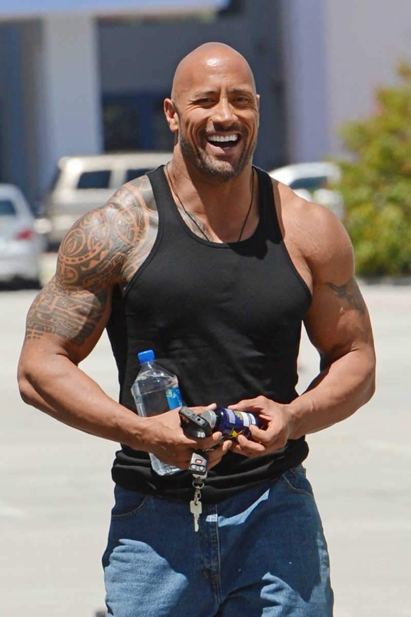 Haarschnitt 2017 Dwayne Johnson