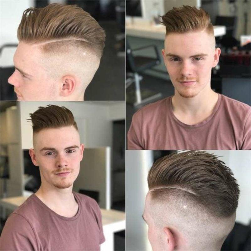 Menshealth moderne Frisuren Sidecut