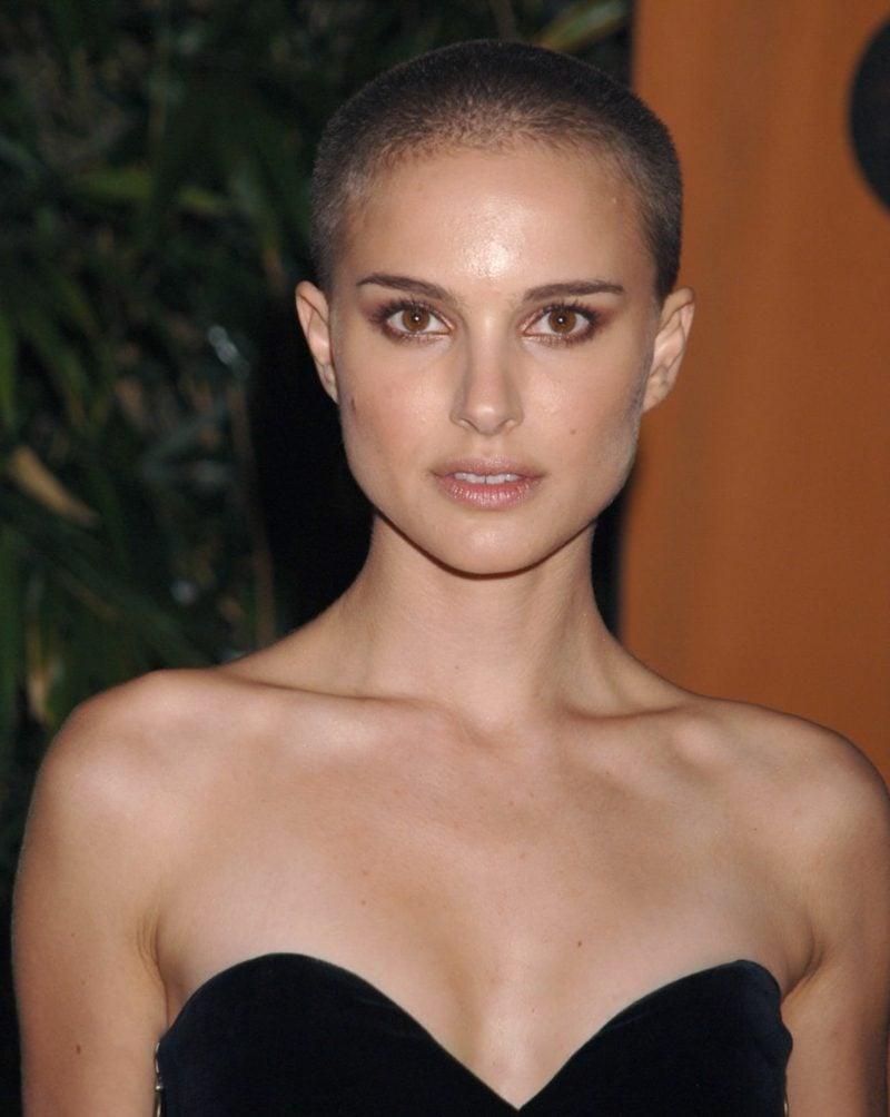 Kurzhaarfrisuren Damen Buzz Cut Natalie Portman