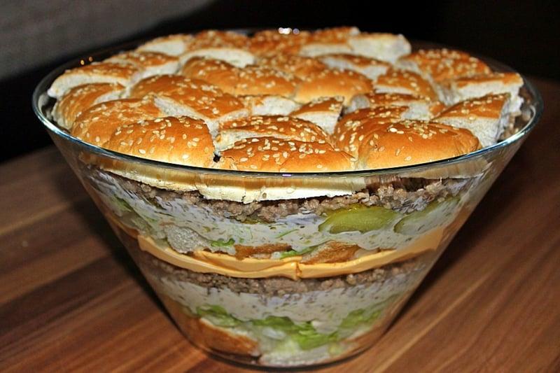 Kalorien Salat Big Mac Party Food