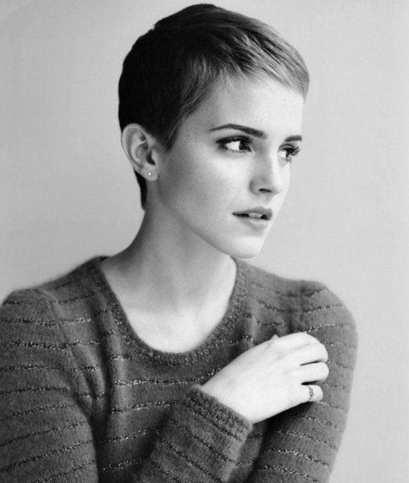 kurze Haare stylen Pixie Cut Emma Watson
