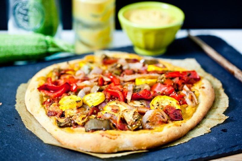 Pizza selber machen vegan