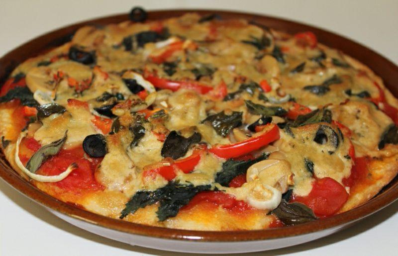 Pizzabelag vegan tolle Ideen
