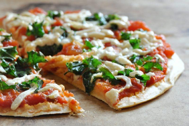 vegan Pizza schnelle Rezepte