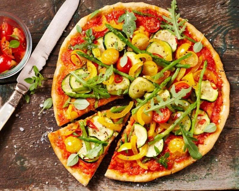 Pizza Sorten vegan Rezepte