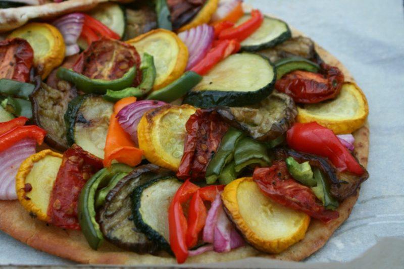 vegan Pizza Ratatouille Rezept