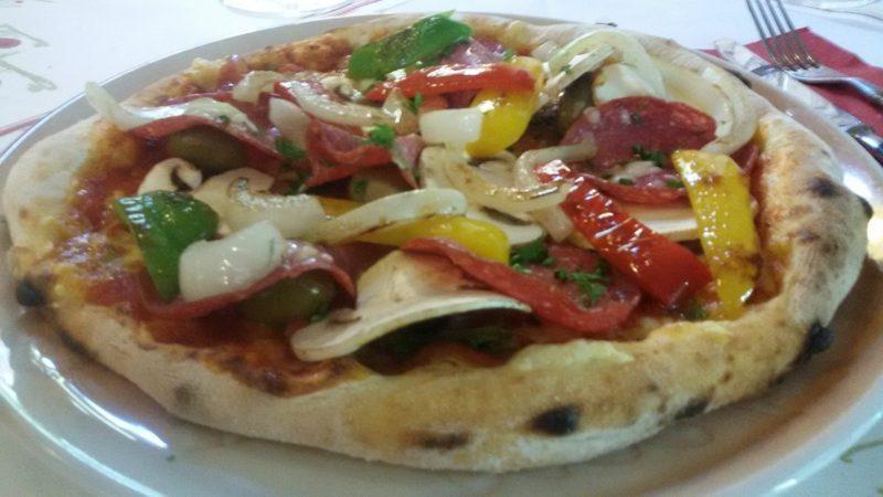 Pizza Belag vegan Feta Käse
