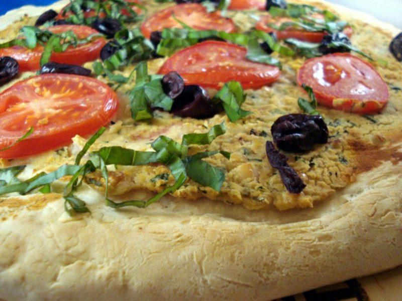 Pizza Sorten vegan toskanischer Belag