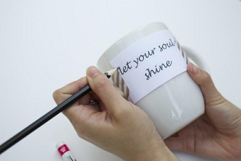 Tasse selbst gestalten wie geht es