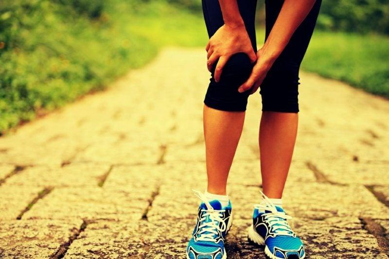 Sport Fitness Schmerzen beim Joggen