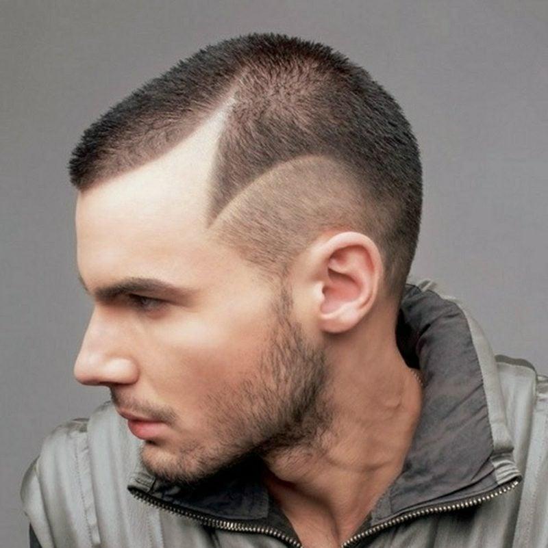 Haar Frisuren Männer Sidecut