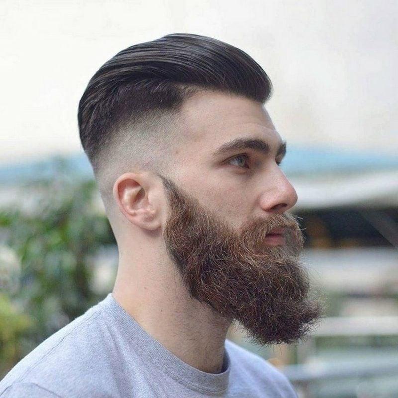 mittellange Haare Frisuren Männer Sidecut