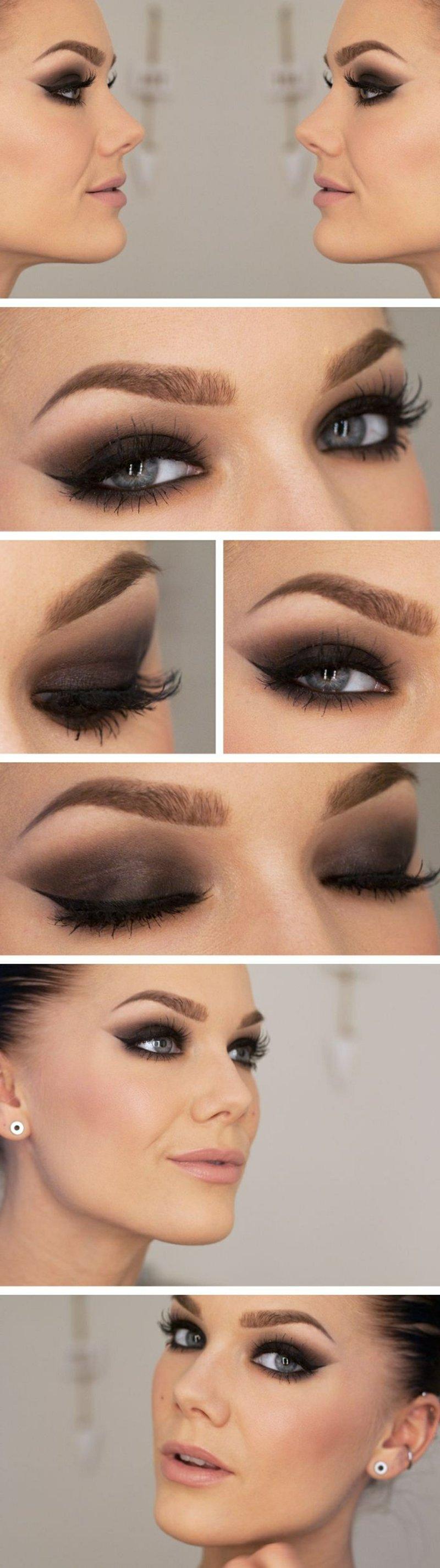 Tipps Schminken blaue Augenfarbe