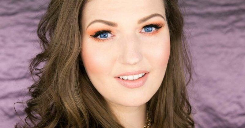 Sommer Make up Trends blaue Augen