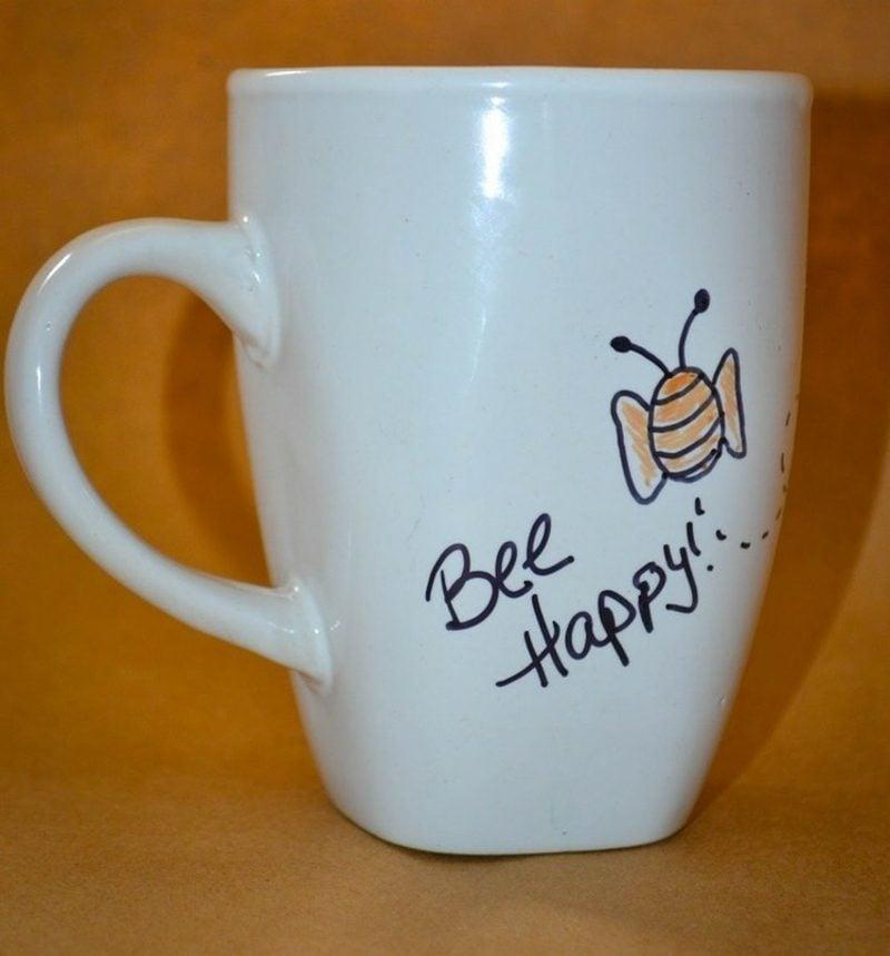 Tassen Englisch : Tassen bemalen einfache anleitung und inspirierende