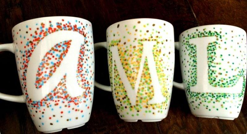 schöne Tassen selber gestaltet origineller Look