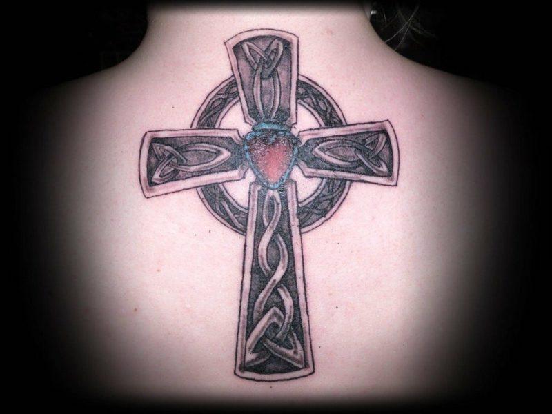 Kreuz Tattoo keltisches Kreuz