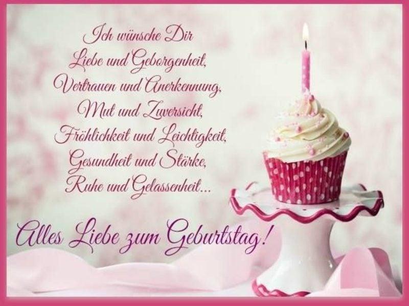 Geburtstagswünsche Freundin Liebe