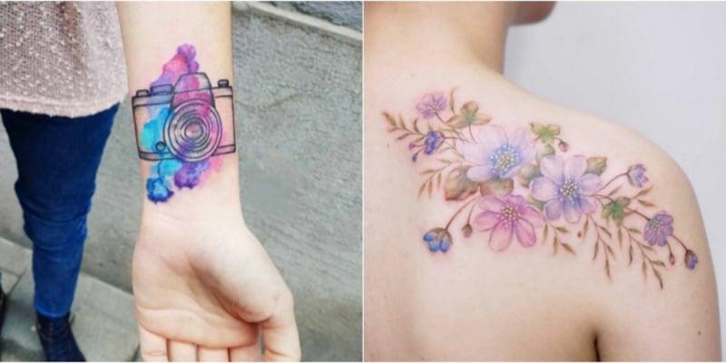 Watercolor Tattoos wichtige Fragen
