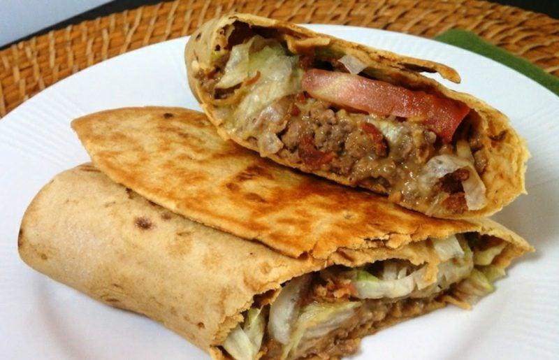 Chafkoch Salat Big Mac Wraps