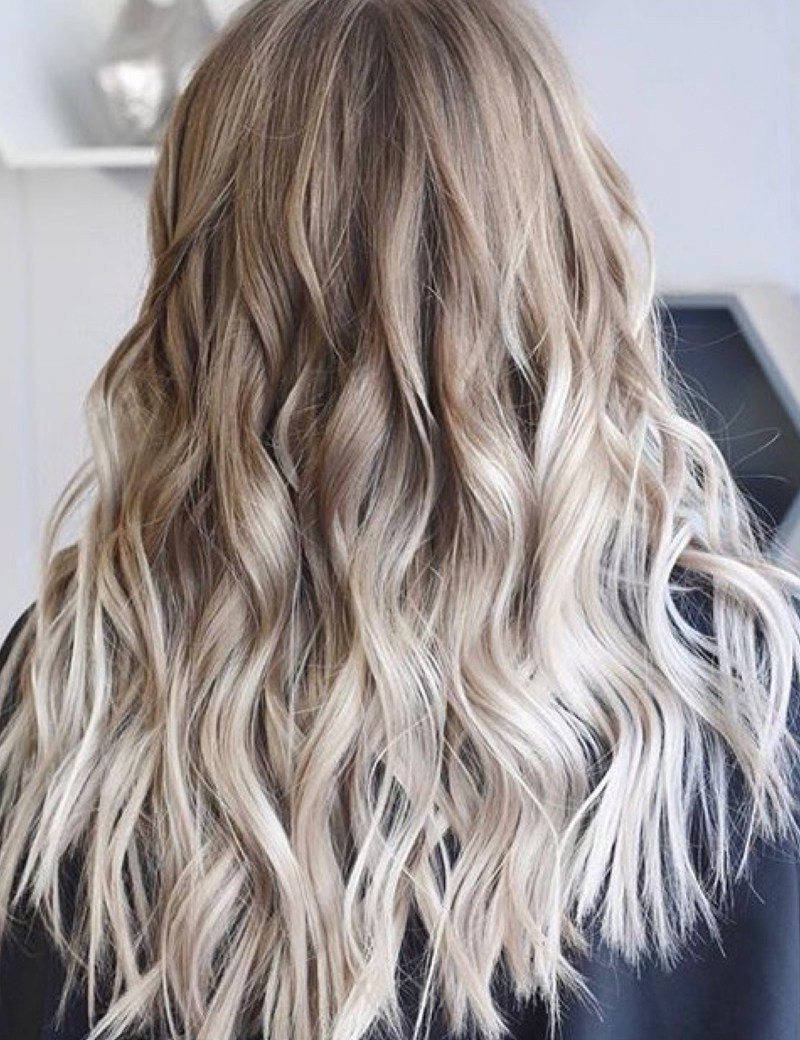 Balayage Blonde Haare