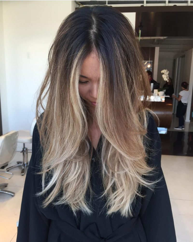 balayage selber machen und 54 trend looks frisurentrends. Black Bedroom Furniture Sets. Home Design Ideas